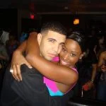 Bria Myles and Drake