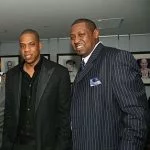 Jay-Z with his brother Eric Carter