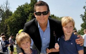 Bear Grylls with his Children