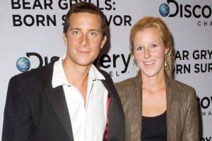 Bear Grylls with his wife Shara Grylls
