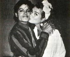 Michael Jackson with Broke Shields