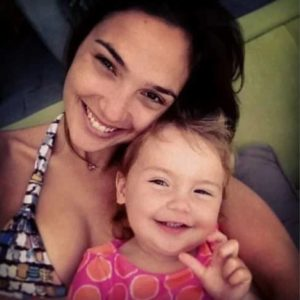 Gal Gadot with her Daughter