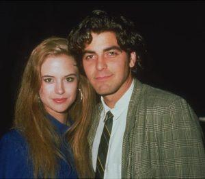 George Clooney with Kelly Preston