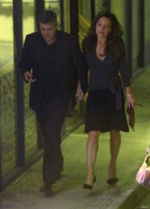 George Clooney with Krista Allen