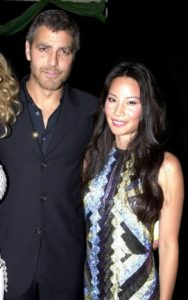 George Clooney with Lucy Liu