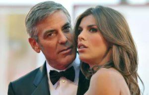 George Clooney with Monika Jakisic