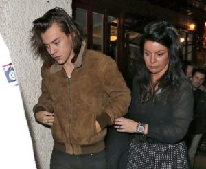 Harry Styles with his Mother