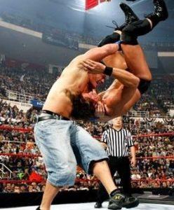 John Cena Finisher Attitude Adjustment