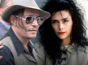 Johnny Depp with Lori Anne Allison