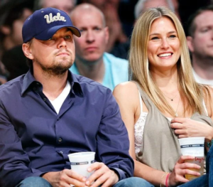 Leonardo DiCaprio with Bar Refaeli