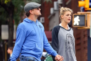Leonardo DiCaprio with Kelly Rohrbach