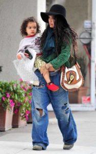 Lisa Bonet with her daughter Lola Iolani Momoa