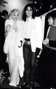 Michael Jackson with Madonna