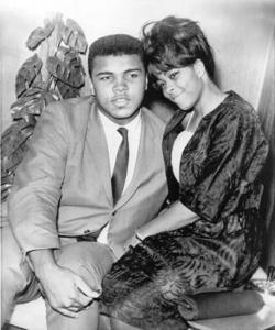 Muhammad Ali with Sonji Roi