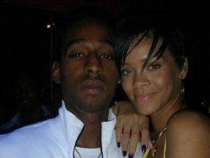 Negus Sealy and Rihanna