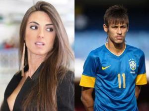 Neymar and Nicole Bahls