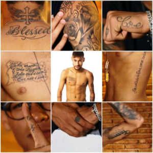 Neymar Tattoos