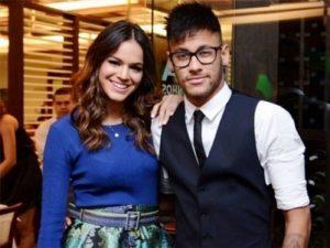 Neymar with Bruna Marquezine