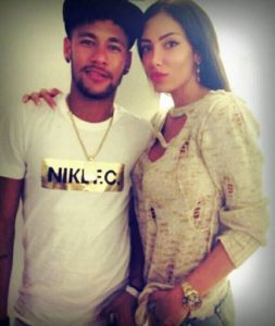 Neymar with Soraja Vucelic
