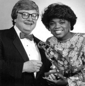 Oprah Winfrey with Roger Ebert
