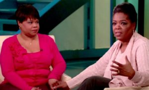 Oprah Winfrey with her Sister Patricia