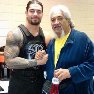 Roman Reigns With His Father