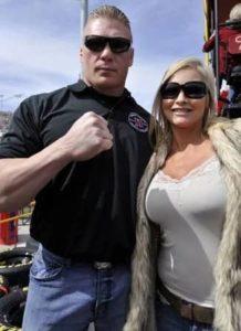 Brock Lesnar with Rena Mero