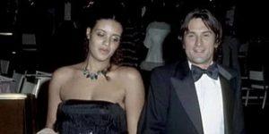 Robert De Niro with Diahnne Abbott