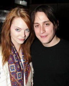 Emma Stone with Kieran Culkin