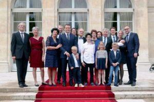 Emmanuel Macron family