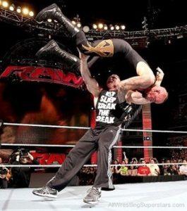 Brock Lesnar Finishing move F5