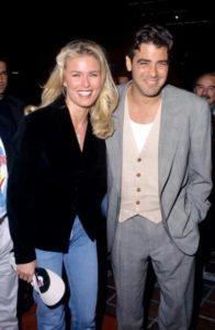 George Clooney with Vendela Kirsebom