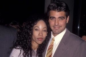 George Clooney with Kimberly Russell