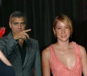 George Clooney with Traylor Howard