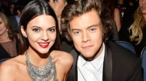 Harry Styles with Kendall Jenner