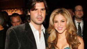 Antonio De La Rúa with Shakira