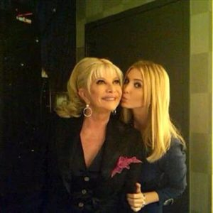 Ivanka Trump With Her Mother