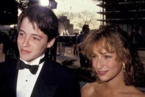 Johnny Depp with Jennifer Grey