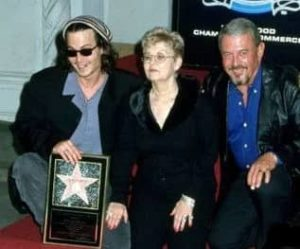 Johnny Depp with his Parents