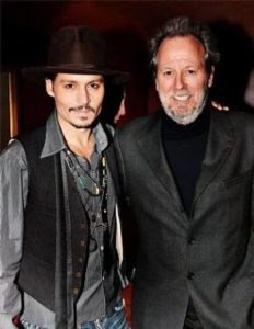 Johnny Depp with his Brother