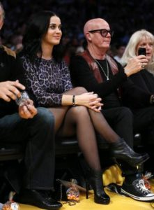 Katy Perry with her Father