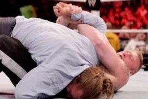 Brock Lesnar Finishing move Kimura Lock