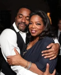 Oprah Winfrey with her Brother