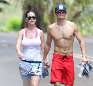 Katy Perry with Orlando Bloom