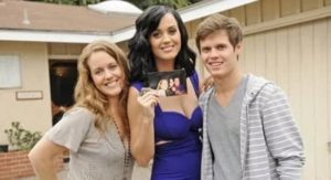 Katy Perry with her Brother and Sister
