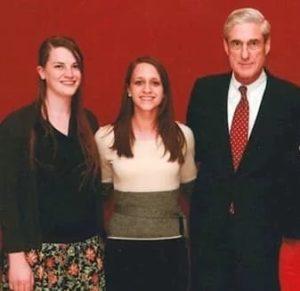Robert Mueller with Daughters