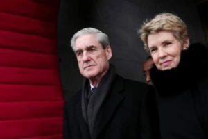 Robert Mueller with Wife