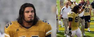 Roman Reigns in Georgia Tech Yellow Jackets