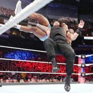 Roman Reigns Samoan Drop