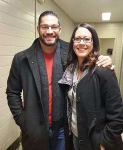 Roman Reigns With His Sister